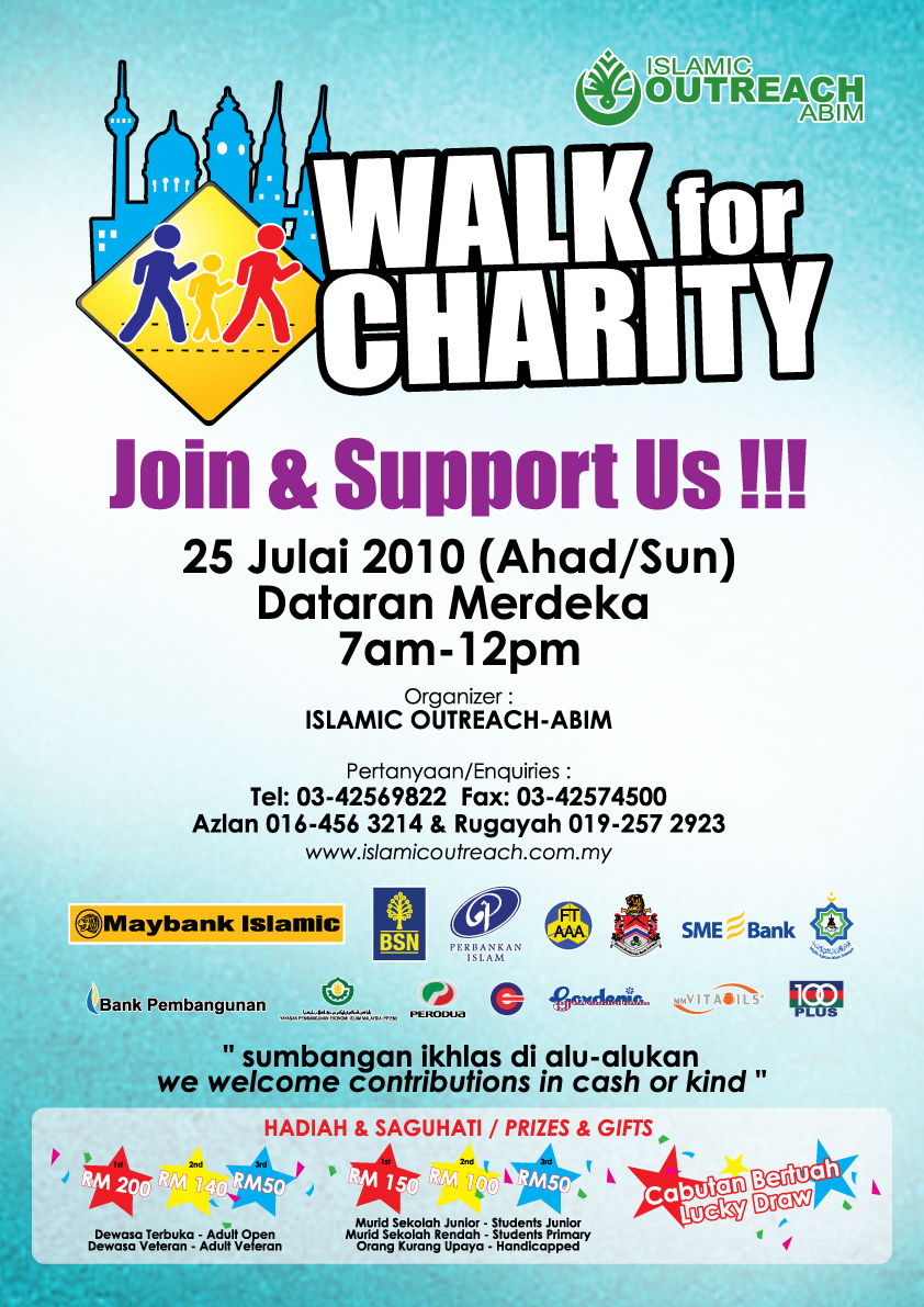 "Charity Walk Annual ""walk For Charity"""