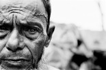Blind in one eye after being beaten in the head during forced labor, this man fled from Burma in the mid-1990s and is one of an estimated 300,000 undocumented Rohingya now living in the southern part of neighboring Bangladesh.